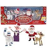 Beverly Hills Teddy Bear Company Rudolph #2 - Santa Clarice Set