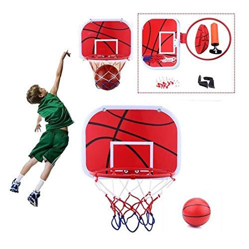 Cerlingwee Mini aro de Baloncesto, Tablero de Baloncesto para Interiores, aro de Baloncesto para Baloncesto, Duradero para Colgar en el Interior