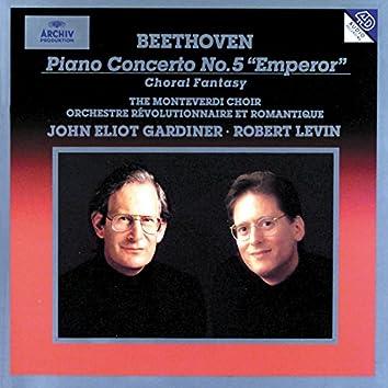 """Beethoven: Piano Concerto No.5 In E Flat Op. 73 """"Emperor""""; Choral Fantasy"""