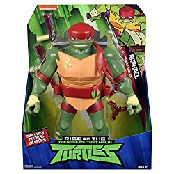 Totally new Giant Turtles based on the new 2018 Rise Of The Teenage Mutant Ninja Turtles TV show! The mightiest of all, Giant Raphael stands 11 Inch tall For the first time, these Giant Action figures are designed with 13 points of articulation, read...