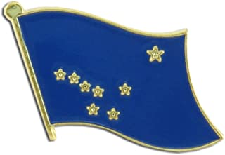 Alaska Flag Lapel Pin - 10 pk