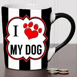 20 oz I Love My Dog Pet Stoneware Coffee Mug