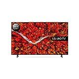 LG 60UP8000-ALEXA 2021-Smart TV 4K UHD 153 cm (60') con Procesador Quad Core, HDR10 Pro, HLG, Sonido Virtual Surround, HDMI 2.0, USB 2.0, Bluetooth 5.0, WiFi