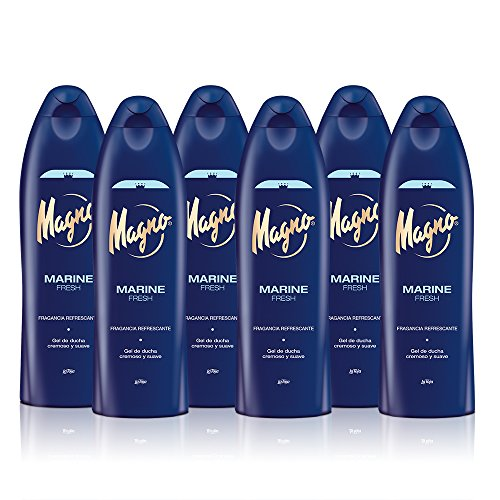 Magno - Gel de ducha Marine Fresh - 550ml (pack de 6) Total: 3300ml