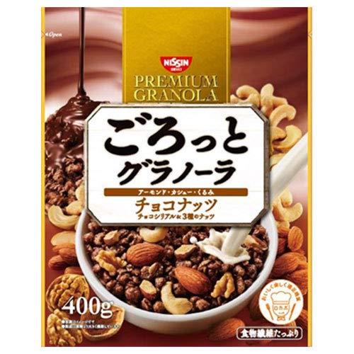 日清シスコ ごろっとグラノーラ チョコナッツ 400g×6袋入×(2ケース)