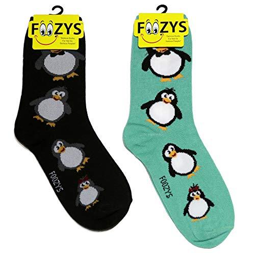 Foozys damen Mannschaftssocken | cute Tier themed mode neuheit socken pinguin