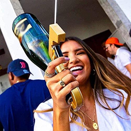 YGCBL Sprayer de Botella de champán Dispensador de Vino Bubbler Bipbler Blaster Spray Champagne Bottle Ejector Alta presión Gun-E (Color : E)