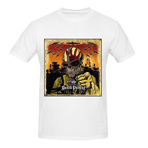 Five Finger Death Punch War is The Answer Herren Printed T Shirts O Neck XX-Large