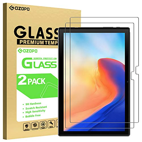 GOZOPO Pellicola Protettiva Compatibile con Blackview Tab 8, Vetro Temperato per Blackview Tab 8 Tab 8E Tablet 10.1 - 2 Pack
