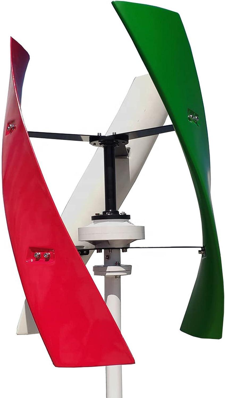 Turbina De Viento Vertical Del Generador Vertical Del Eje Vertical 220V 1000W Con El Generador Alternativo De La Alternativa Del Imán Permanente De RPM Bajo Para El Uso Del Hogar Y La Farola