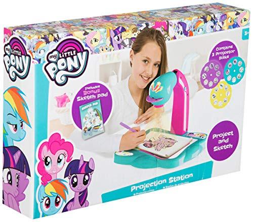 Sambro- Estación de proyección, Actividad de Dibujo para niños, Multicolor (MLP4-Y17-4538)