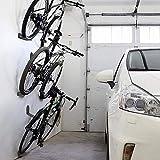 3pcs / set Estante de la bici de la bicicleta, Ciclismo titular del pedal del candado, el Monte de neumáticos de bicicletas Aparcamiento Wall Rack, Soporte Almacenamiento de pared Percha soporte de ac