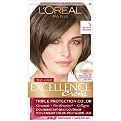 GRAY COVERAGE HAIR COLOR WITH TRIPLE PROTECTION: No hair color cares more than Excellence Crème With our triple protection system that seals, replenishes & conditions, plus 100% gray coverage even on stubborn grays, it's called Excellence for a reaso...