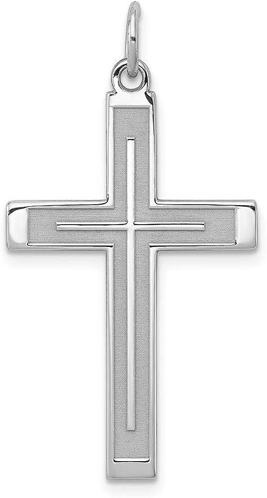 Regular store Ryan Jonathan Fine Jewelry Sterling Cross Silver Wholesale Designed Laser