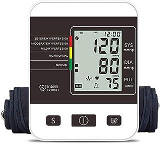 Kaliove Automático Superior del Brazo Tipo Electrónica Esfigmomanómetro Automático De Comercio En Hogar Médico De Transmisión De Voz,Blanco