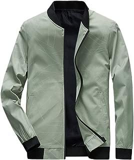 LEKODE Men Outwear Fashion Pathwork Long Sleeve Tops