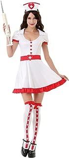 Night Shift Nurse Women's Halloween Costume Sexy Medical RN Hospital Scrubs