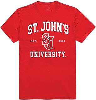 St. John's University Red Storm NCAA Seal Tee T-Shirt Red