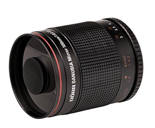 Dörr DANUBIA Spiegel Teleobjektiv 8,0/500 mm T2  Mirror Telephoto Lens
