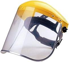 Viseras de Seguridad Reutilizable Protecci/ón Completa Viseras Lente Facial Transparente Ligera Antipolvo PANGHU Protector Facial de Seguridad Aantipolvo y Evitar la Saliva Antivaho