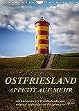 Ostfriesland - Appetit auf mehr/Geburtstagskalender (Wandkalender 2022 DIN A4 hoch)