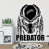 Ajcwhml Calcomanía de Pared de depredador Decoración Diseño de Interiores del hogar Decoración de Sala de Estar Mural Etiqueta extraíble - 67X86CM-67X86CM