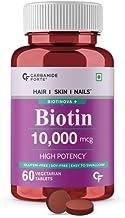 Carbamide Forte High Potency Biotin tablets 10000mcg for Hair Growth – 60 Veg Tablets