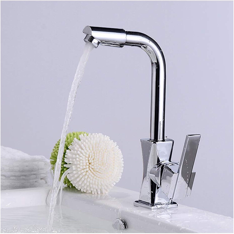 ASHENG Kitchen Sink Taps Faucet Modern Mixer Swivel Spout Tap Faucet Single Lever Luxury Elegant 360 Degree redating Bathroom Waterfall Tap