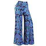Palazzo Pants for Women,2019 New Women's Stretchy Wide Leg Palazzo Lounge Pants Comfy Chic Solid and Printed Pants