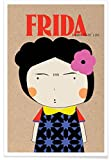 "Juniqe® Frida Kahlo Poster 20x30cm - Design ""Little"