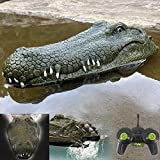 Remote Control Alligator Head Boat - Halloween Prank Toys RC Boat Crocodile for Adults and Boys, Remote Control Boats for Pond, Pools and Lakes for Kids