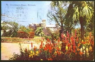 Government House Bermuda postcard 1953