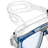 AQUALUNG - Maskenband Silicon transparent breit