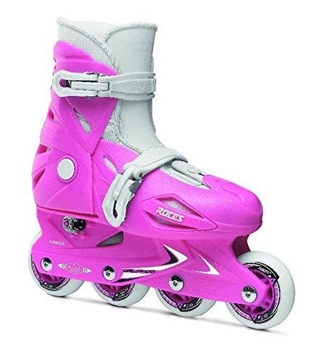 Roces Herren Inlineskate Model Orlando III Kids Inlineskate US 4-7 Size Deep Pink
