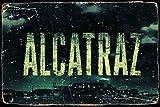 HONGXIN Alcatraz Vintage Blechschilder Retro Metallschilder