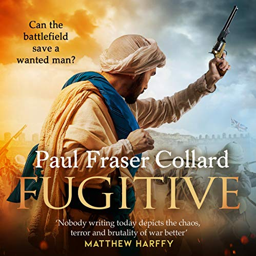Fugitive audiobook cover art