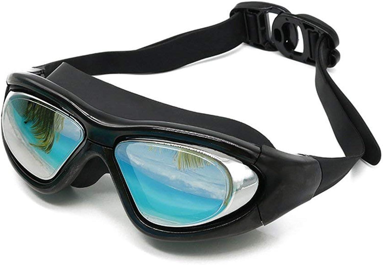 FOOBRTOPOO Schwimmbrillen Schwimmbrillen Schwimmbrillen-Professionelle Anti-Fog- und UV-Schutzbrillen, Wasserdichte verstellbare Brille Entwickelt für Erwachsene und Kinder B07P7FMWBF  Erschwinglich