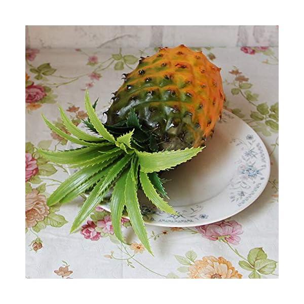 NC56 Home Furnishing Artificial Simulation Pineapple Plastic Ecorative Fruit DIY Improvement hot Party Kitchen Wedding Decoration