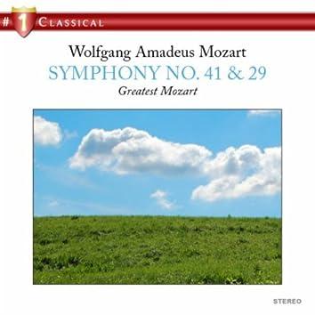 Mozart: Symphony No. 41 & 29
