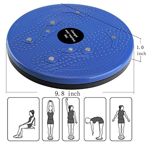 Product Image 5: chengsi Twisting Waist Disc Bodytwister Ankle Body Aerobic Exercise Foot Exercise Fitness Twister Magnet Balance Rotating Board nyp01 (Purple)