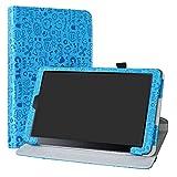 Galaxy Tab a 10.5 Rotary Funda,LiuShan Giratoria 360 Grados de Rotación Carcasa con Stand Soporte Caso para 10.5' Samsung Galaxy Tab a 10.5 T590 T595 Android Tablet,Azul