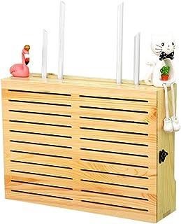 Caja de Almacenamiento de enrutador WiFi inalámbrico Soporte de Almacenamiento de Cable para TV Conjunto de Top, Reproduct...