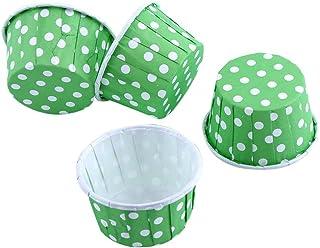100Piezas de moldes, moldes de Papel para Magdalenas, Cupcake Wrappers Tazas de Soportes para Casos de Cupcake Muffin Cupcake Liners, Cupcake Moldes de Papel Casos Color