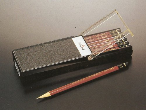 【ひらがな/カタカナ名入れ】三菱鉛筆 Hi-uni ハイユニ 2B (HU-2B)