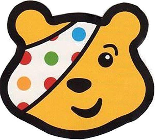 Children In Need Cache-œil pour déguisement Pudsey - Taille adulte, motif à pois multicolores