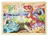 Dinosaurios - Puzzle moldura - Juguetes de madera educativos de Classictoys
