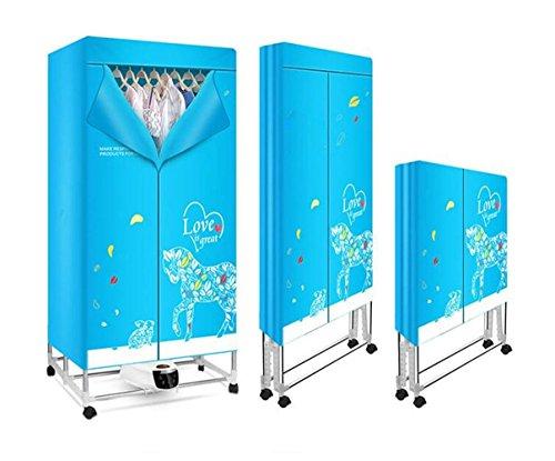 STEAM PANDA Secadora de ropa de acero inoxidable de secado rápido Dry...