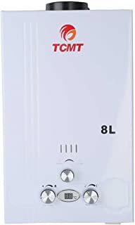 TC-Home 8L LPG Gas Tankless BoilerHouse Instant Hot Water Heater On Demand