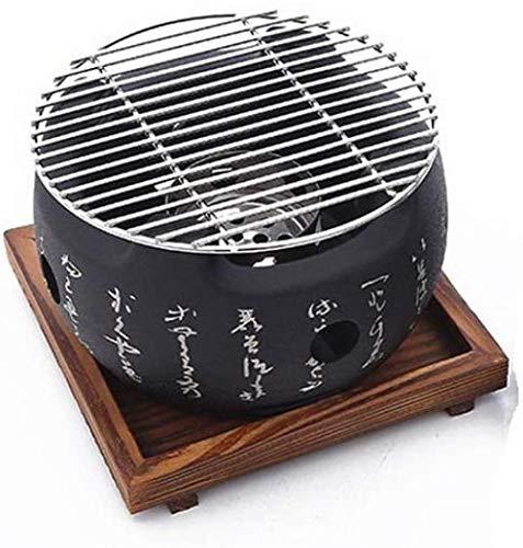 YAYY creatieve houtskoolgrill in Japanse stijl voor de oven met alcohol, kleine houtkachel met 16 sets (upgrade)