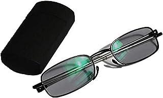 b06699fcdd ZoliTime Plegable de bolsillo mini lector optico transición fotocromáticos  miopía hipermetropía anteojos de lectura + RX